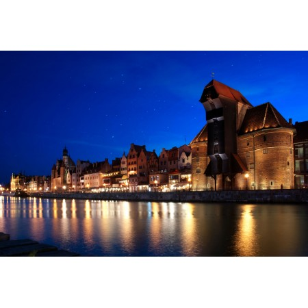 Danzig Krantor GdanskPhotographic Print Poster Most Beautiful Places in Poland
