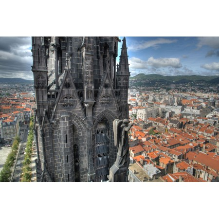 LeDuc Cathedrale Large Poster Most Beautiful Places in France Art Print