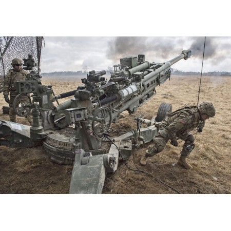 U.S. Military Forces Photographic Print Poster The US Army Is Developing Artillery That Has GPS Precision