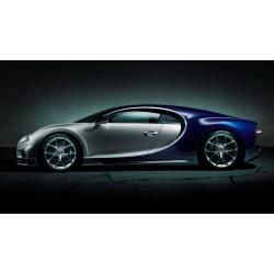 Bugatti Chiron Art Print Cars two-seater sports, monster W-16 engine