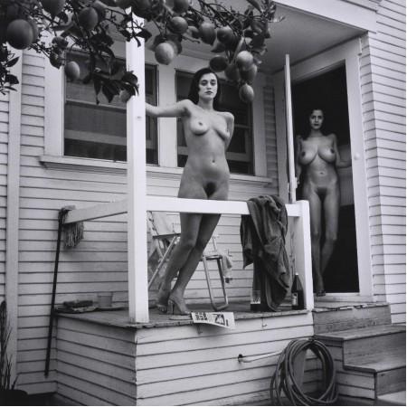 "24""x24"" Retro Vintage Poster Ava Fabian and Roberta Vasquez Playboy hairy babes"