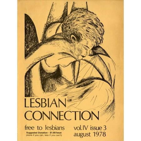 "Lesbian Connection, East Lansing, Michigan, 1978 Vintage Poster 31""x24"""