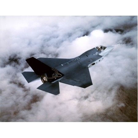 31x24in Poster Lockheed F-35 Joint Strike Fighter Edwards Air Force Base