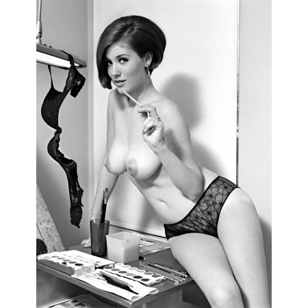 18x24in Poster Classic Pinups Candy Earle See through Transparent Panties